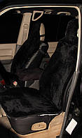 Авточехол из овчины для автомобильного кресла , черный 100%