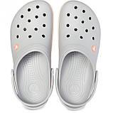 Женские кроксы Crocs Crocband светло-серые 40-41 р., фото 2