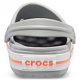 Женские кроксы Crocs Crocband светло-серые 40-41 р., фото 4