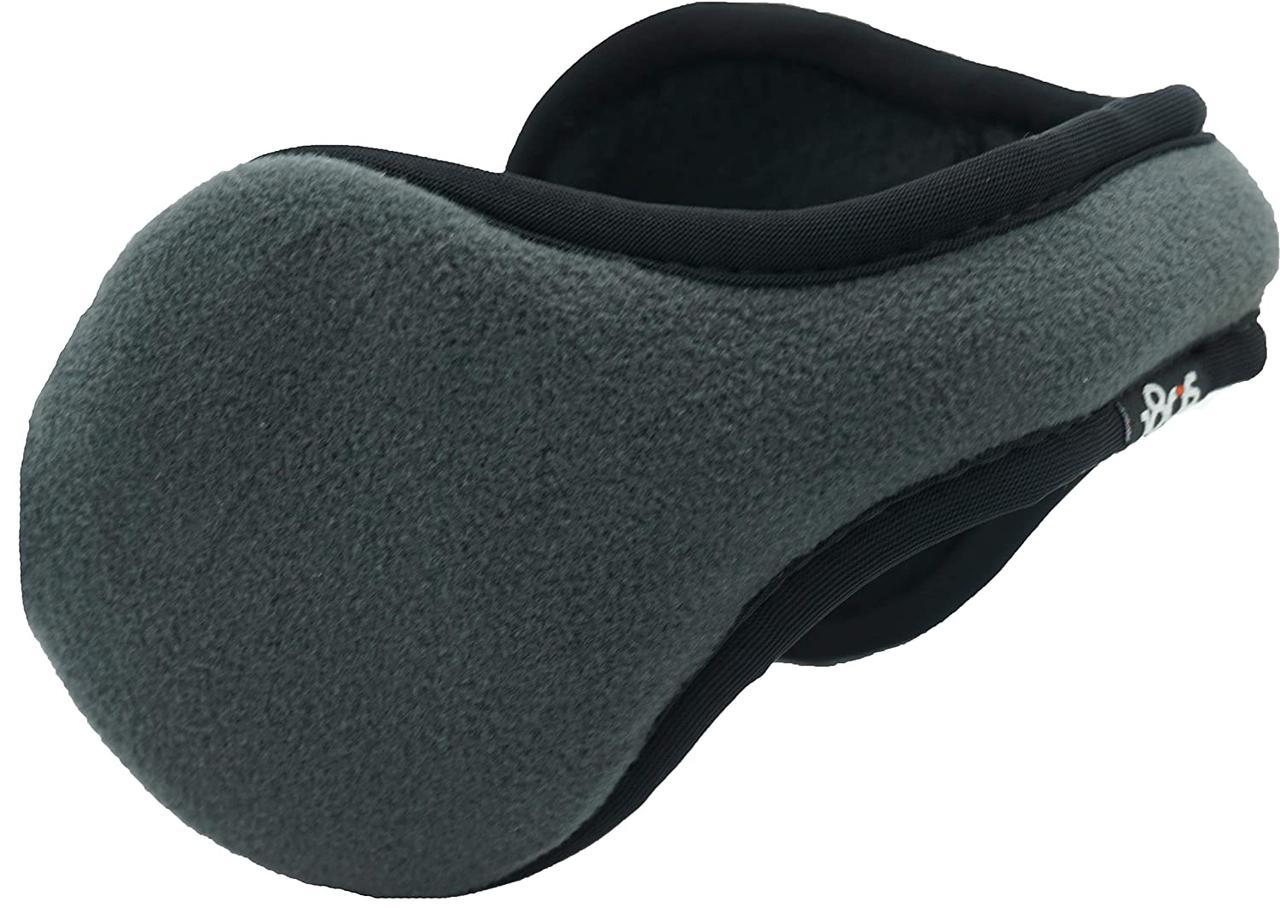 Теплые наушники с ободком сзади головы Tec Fleece (Серые)