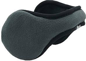 Теплі навушники з обідком ззаду голови Tec Fleece (Сірі)