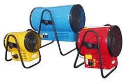 Електричні і паливні теплові гармати