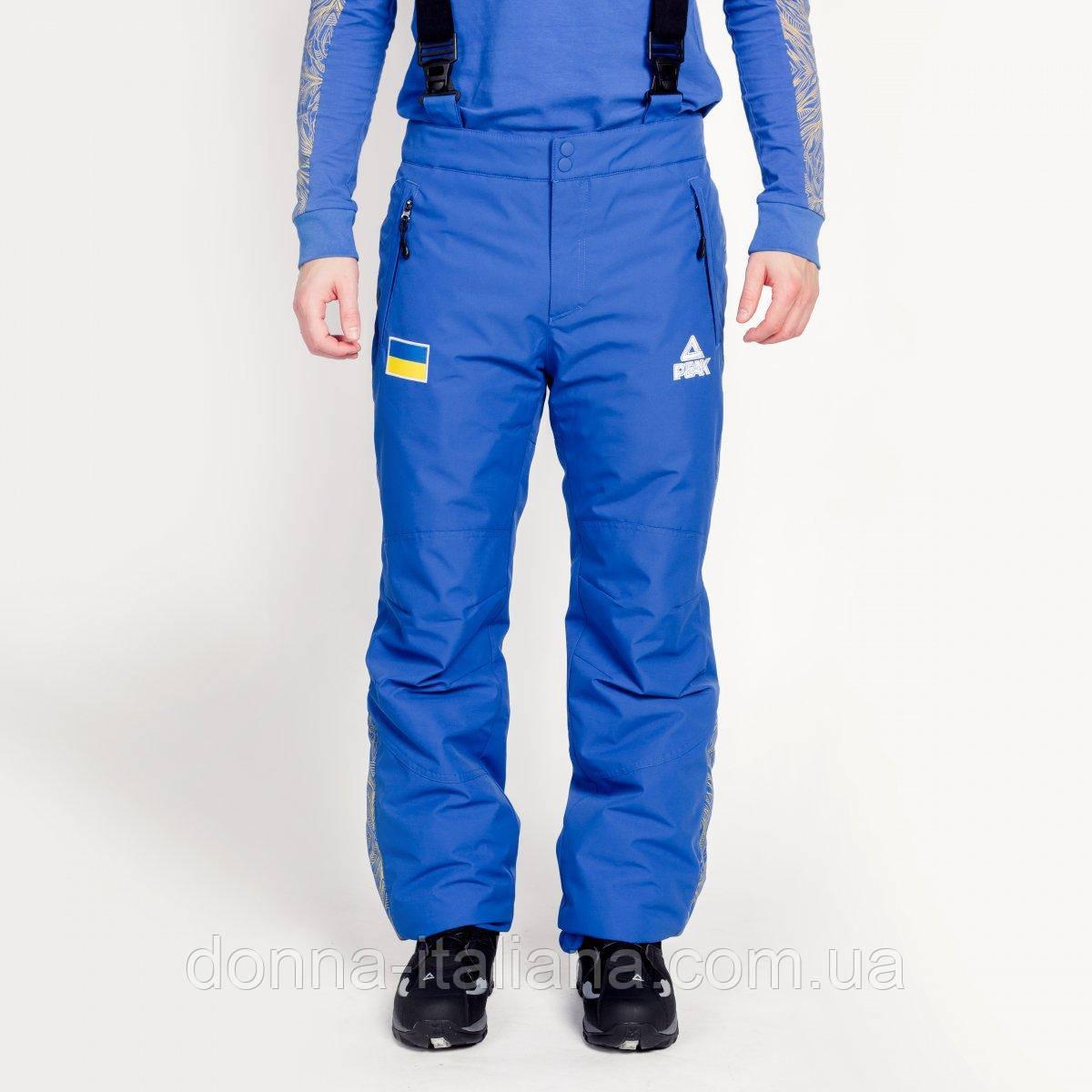 Штани лижні чоловічі Peak FS-UM1808-BLU XS Блакитний (2000132389019)