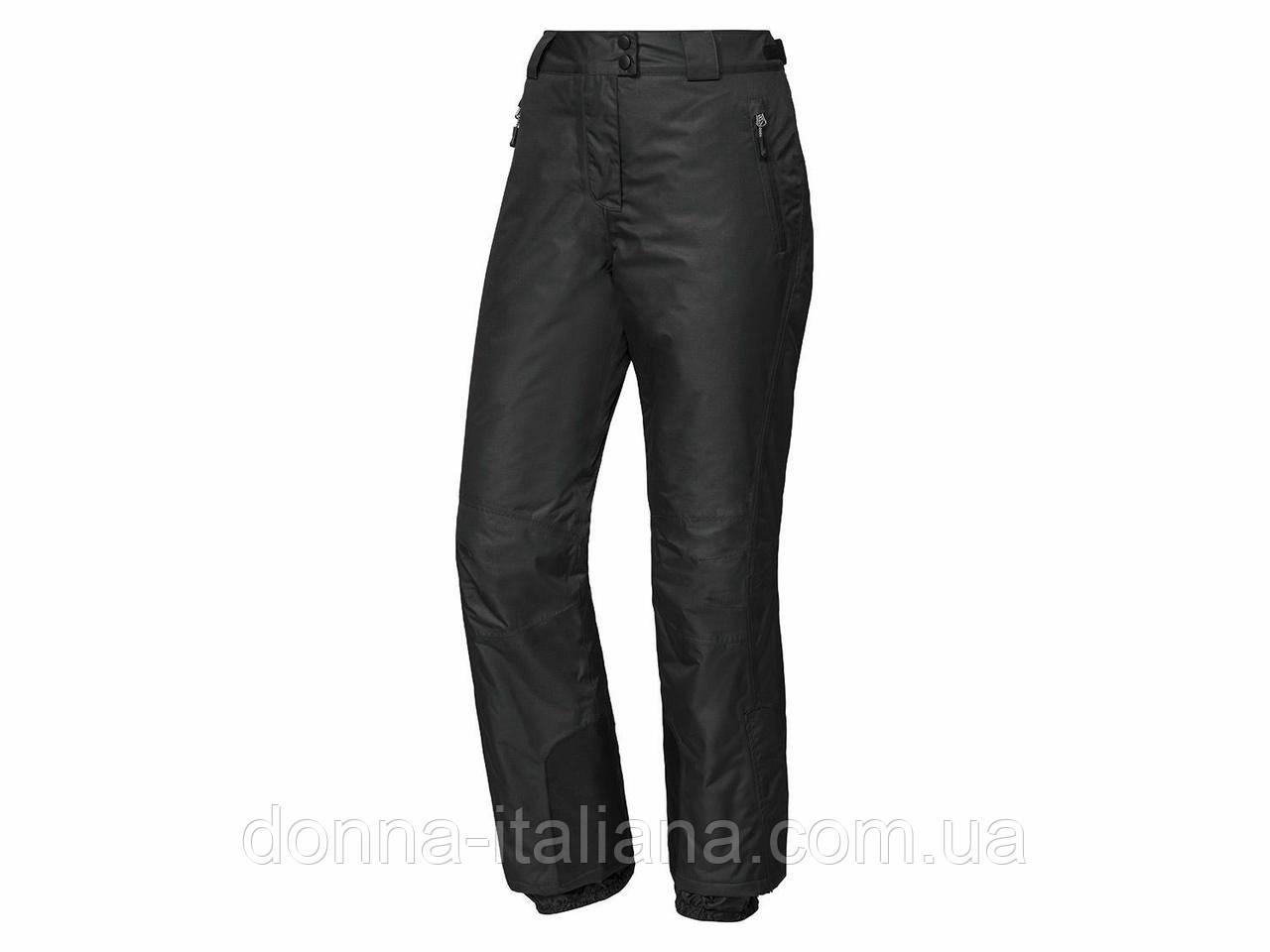 Жіночі лижні штани Crivit - EU44 Чорний (1315528)