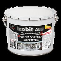 Гідроізоляційна декоративна покрівельна мастика IZOBIT ALU
