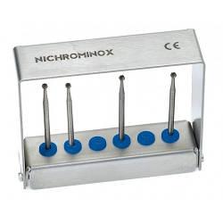 Подставка для стоматологических боров на 6 инструментов, высота 6 см, 206003