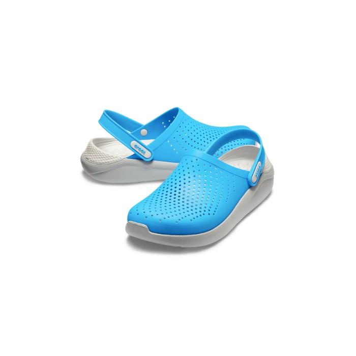 Летние кроксы Crocs LiteRide™ Clog голубые 37 р.