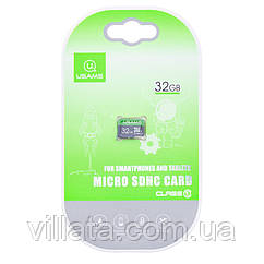 Карта памяти USAMS US-ZB094 TF High Speed Card 32 Gb