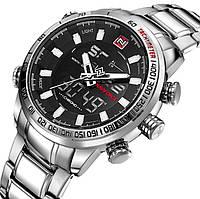 Naviforce Мужские часы Naviforce Savonna Silver 9093, фото 1