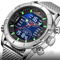 Naviforce Мужские часы Naviforce Tesla Silver NF9153