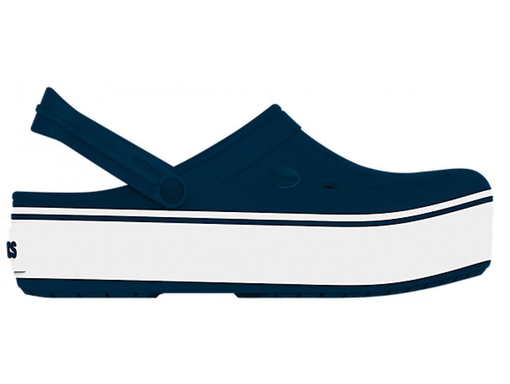 Кроксы женские Crocs Platform синие 37 р.
