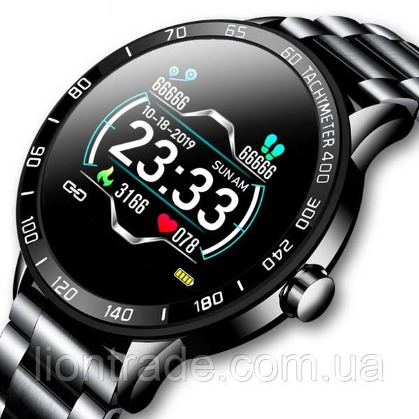 Lige Мужские часы Smart Lige Omega Black