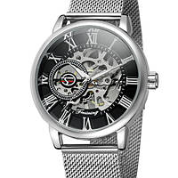 Forsining Мужские часы Forsining Aston Silver, фото 1
