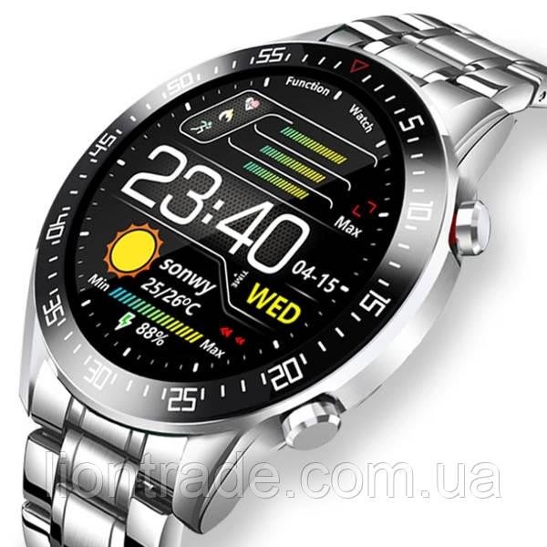 UWatch Смарт часы Smart Terminator PRO Silver