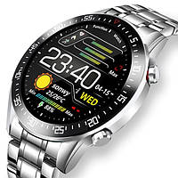 UWatch Смарт часы Smart Terminator PRO Silver, фото 1
