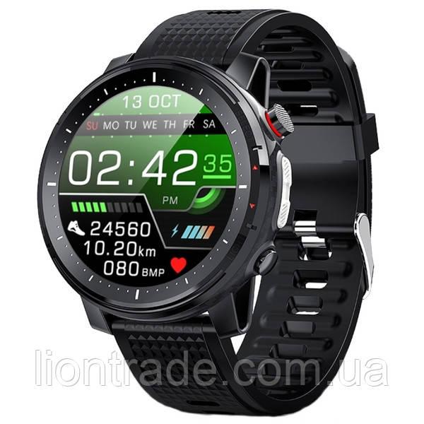 UWatch Смарт часы Smart Space Turbo Black