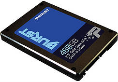 "SSD 480GB Patriot Burst 2.5"" SATAIII 3D TLC (PBU480GS25SSDR)"