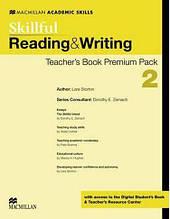 Skillful Level 2 Reading and Writing Teacher's Book Premium Pack Macmillan