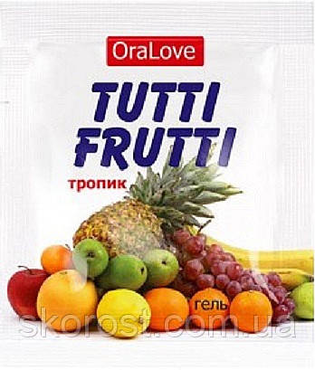 Гель OraLove TUTTI-FRUTTI ТРОПИК 4 гр