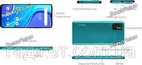 Смартфон UMIDIGI A7S 2/32GB черного цвета, фото 2
