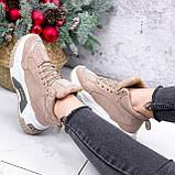 Ботинки женские Felix беж ЗИМА 2808, фото 2