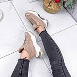Ботинки женские Felix беж ЗИМА 2808, фото 5