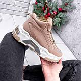 Ботинки женские Felix беж ЗИМА 2808, фото 8
