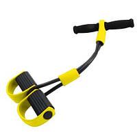 Эффективный тренажер для тела Фитнес-Тренер с эспандерами, фото 1
