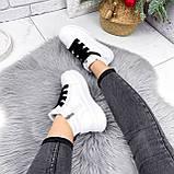 Ботинки женские Nies белые ЗИМА 2806, фото 10