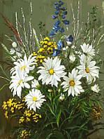 Картина по номерам Белоснежка Полевые ромашки 30х40 см LX 470, КОД: 1899205