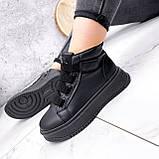 Ботинки женские Nies черные ЗИМА 2805, фото 3