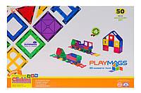 Конструктор Playmags магнитный набор 50 эл. PM153 (JN63PM153)
