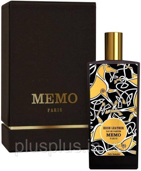 Парфюмированная вода Memo Irish Leather для мужчин и женщин  - edp 75 ml