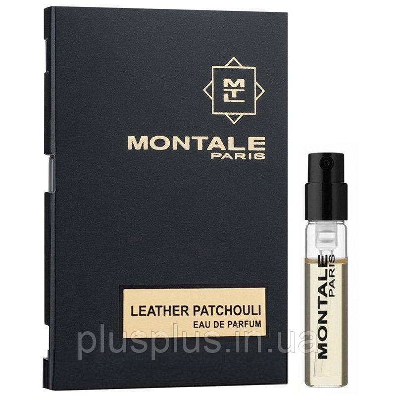 Парфюмированная вода  Leather Patchouli для мужчин и женщин  - edp 2 ml vial