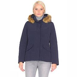 Пальто женское Geox W7420M 42 DARK NAVY W7420MDKNV-42, КОД: 1232519