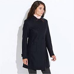 Пальто женское Geox W5415D DK NAVY LT CARROT 40 Синий W5415DDNVLC, КОД: 1708919