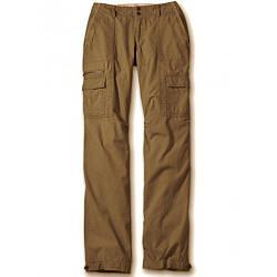 Брюки карго Eddie Bauer Women Ripstop Boyfriend Cargo Trousers  BROWN 38 Коричневый 7117718BR, КОД: 1099254