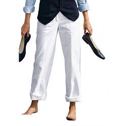 Брюки Eddie Bauer Womens Straight Leg Trousers WHITE 38 Белый 7115031WT, КОД: 1099301