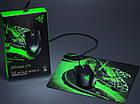 Миша Razer Abyssus Black USB + Ігрова поверхня Razer Goliathus Mobile Construct (RZ83-02730100-B3M1), фото 2