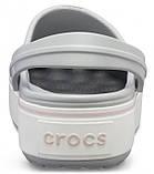 Женские кроксы Crocs Platform серые 37 р., фото 5