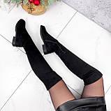 Ботфорты Allard черные ДЕМИ 2802, фото 3