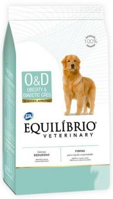 Equilibrio (Эквилибрио) Veterinary Dog Obesity & Diabetic Лікувальний корм для собак при ожирінні і діабеті 2