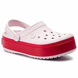 Женские кроксы Crocs Platform светло-розовые 35 р., фото 2