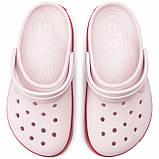 Женские кроксы Crocs Platform светло-розовые 35 р., фото 4