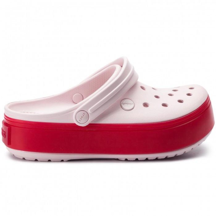 Женские кроксы Crocs Platform светло-розовые 39 р.
