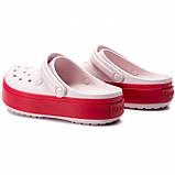 Женские кроксы Crocs Platform светло-розовые 39 р., фото 3
