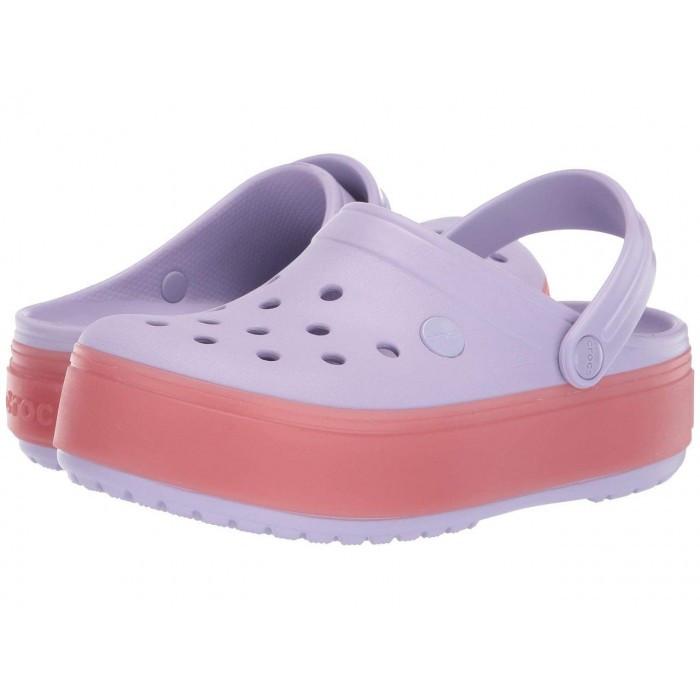 Кроксы женские Crocs Platform лавандовые 37 р.