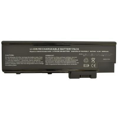 Аккумулятор для ноутбука Alsoft Acer LIP-4084QUPC 4400mAh 8cell 14.8V Li-ion (A41196)