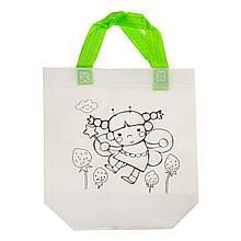 Детская сумка раскраска, фея