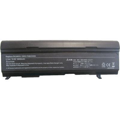 Акумулятор для ноутбука Alsoft Toshiba PA3465U 6600mAh 9cell 10.8 V-Li-ion (A41141)